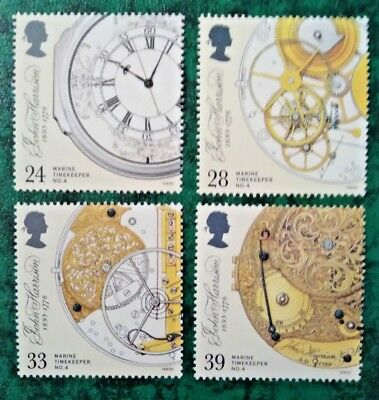 Gb 1993 Timekeepers Mnh Stamp Set (Free Postage Offer See Details)