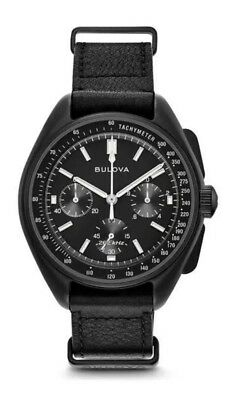 Bulova Special Edition Lunar Pilot Moon Watch Six hand Chronograph 98A186
