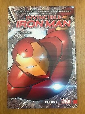 Invincible Iron Man: Reboot #1 (Apr '16, Marvel) HC - BRAND NEW!