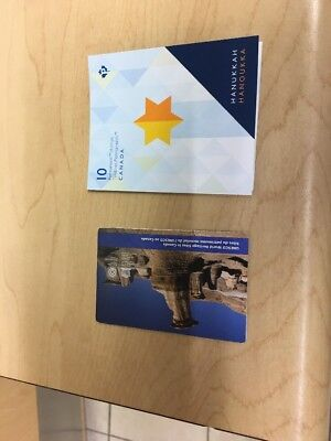 Canada Post Recalled Hanukkah stamp booklet And Canada Unesco 2015 Error Stamp