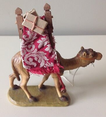 "Anri Kuolt  3""  Camel Nativity Woodcarving"