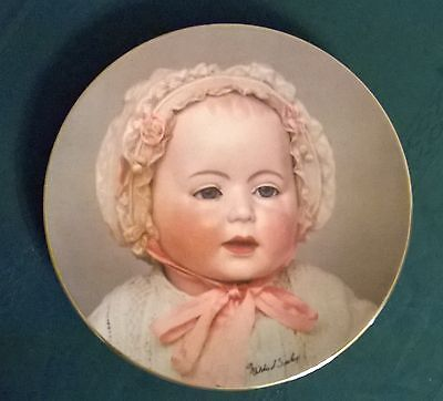 "Vtg'82 Mildred Seeley""lori Baby""collector Plate.8 1/2"".""the Doll Collection"""