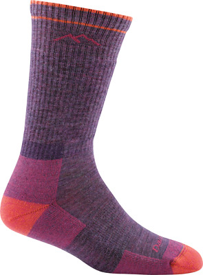 Darn Tough Womens Boot Hiking Sock Cushion, Plum Heather, M