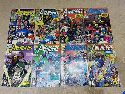 Avengers # 334 comics part of larger collection