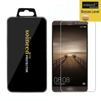 SOINEED Tempered Glass Screen Protector Saver For Huawei Mate 9