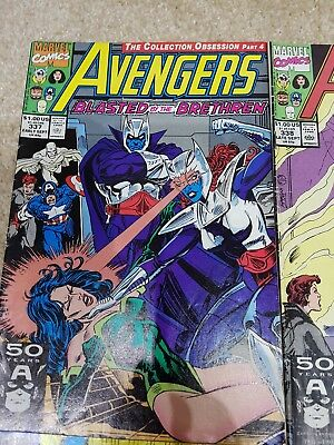 Avengers 337 Marvel comics part of larger collection