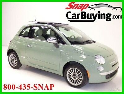 2015 Fiat 500 Lounge Hatchback 2015 Fiat 500 Lounge Hatchback Automatic FWD Premium*LEATHER*SUNROOF*1-OWNER*WOW