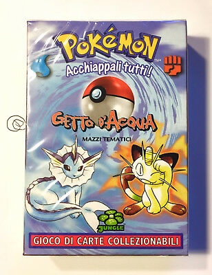 Pokemon Mazzo tematico Jungle Getto d'Acqua Italiano - Sigillato Starter Deck