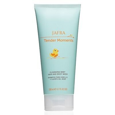 Jafra Tender Moments Cleansing Baby Hair And Body Wash 6.7 FL.OZ. Hypoallergenic