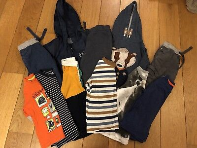 Bundle Of Clothes (11 Items) For A Boy Aged 3-4 Years