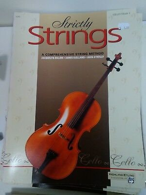 Cello 5295 BEST DEAL FREE SHIPPING Strictly Strings Series Book 1