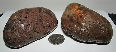 NATRUAL,RAW ,ROUGH,UNKNOWN,ROCKS,STOBES, lot of 2      188.1gr