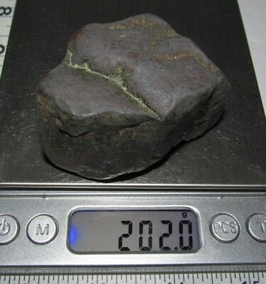 NATRUAL,RAW ,ROUGH,UNKNOWN HEAVY MATALIC ,MAGNETIC,ROCK,STONE,     202.0gr