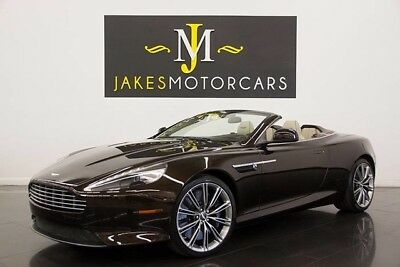 2012 Aston Martin Other Virage Volante (1-OWNER) 2012 ASTON MARTIN VIRAGE VOLANTE, 1-OWNER! MARRON BLACK ON SANDSTORM, PRISTINE!