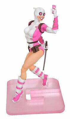 Marvel Gallery Gwenpool (Gwen Stacy) PVC Brand New Statue DST Toys Femme Fatales