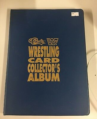 WWF Wrestling Card Collectors Album 1990