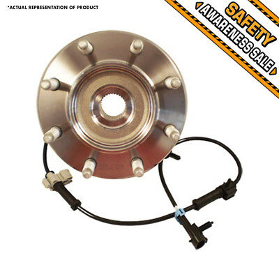 1 NEW Front Wheel Hub Bearing Assembly XL GMC SIERRA SUBURBAN YUKON H2 4X4 4WD