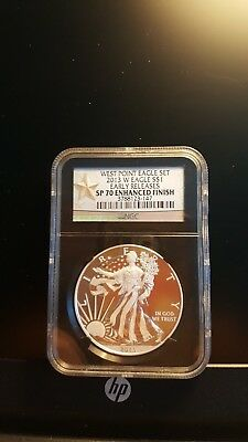 West Point Eagle Set--2013W--Early Releases---Sp 70--Enhanced Finish--Ngc--