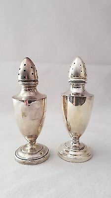 Sterling Silver Weighted Salt & Pepper