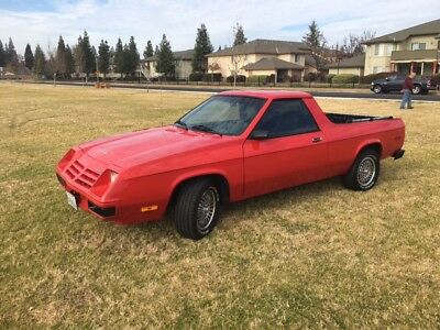 1982 Dodge Other Pickups Rally Sport Dodge Rampage Rally Sport, 1982