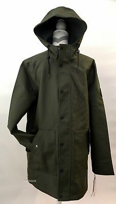 9b2d73762040 UGG MEN S HOODED Rain Jacket Olive Green Waterproof -Size M -Nwt ...
