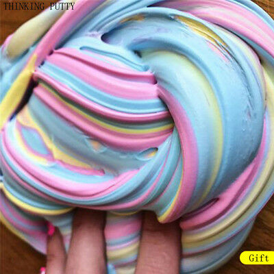 Multicolor Fluffy Foam Clay Slime For Kids Stress Relief