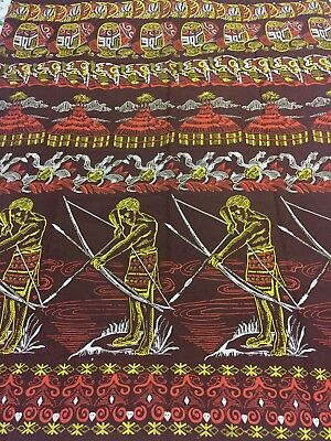 Vintage Ethnic Papua New Guinea Fabric