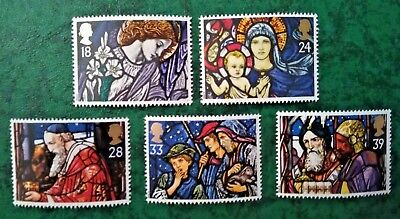 Gb 1992 Christmas Mnh Stamp Set (Free Postage Offer See Details)