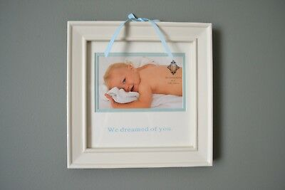 New Baby Boy Picture Photo Frame We Dreamed of You
