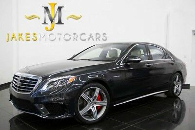 2016 Mercedes-Benz S-Class S63 AMG DESIGNO ($161,165 MSRP)...ONLY 2600 MILES! 2016 S63 AMG DESIGNO, $161K MSRP! ONLY 2600 MILES! REAR SEAT PKG! REAR DVD!