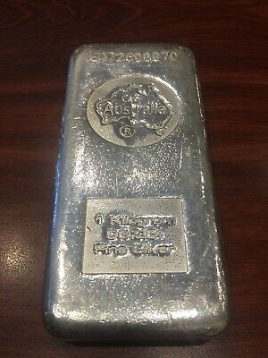 1 Kilogram of .999 Silver Bullion Bar