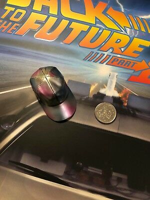 Hot Toys Back to the Future 2 Marty McFly Shiny Baseball Cap loose 1/6th scale
