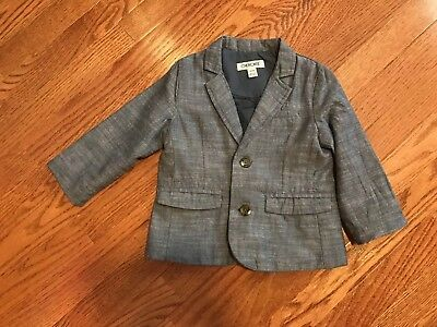 Toddler Blue Blazer Boys 18 Months