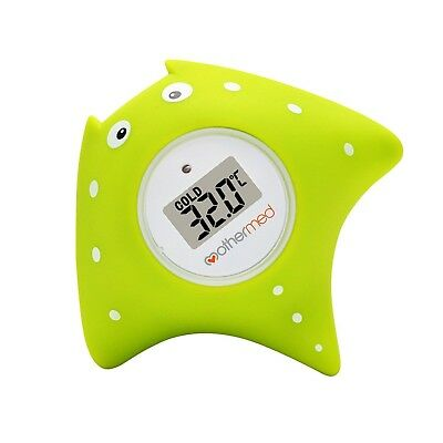 Mothermed Baby Bath Thermometer and Floating Bath Toy BathTub and Swimming Po...