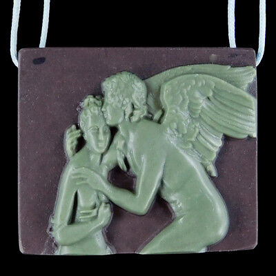 Carved Cupid and Psyche Bead C EB508067