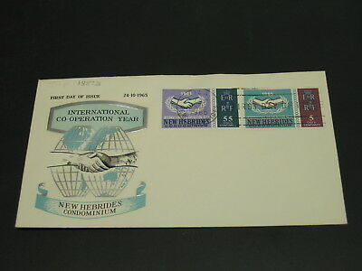 New Hebrides 1965 FDC cover *18893