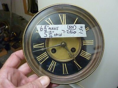 Large Antique French Dial & Striking Movement (Sd1)
