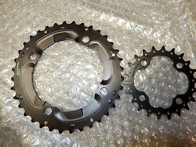 Chainring double Shimano Deore 36/22T 10 speed *NEW*