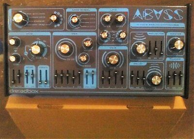 Dreadbox Abyss 4-Voice Polyphonic Analog Synthesizer