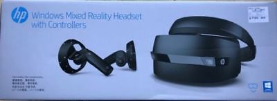 HP Mixed Reality VR Headset with controllers -Unopened-Original +1Yr Ext Wrnty