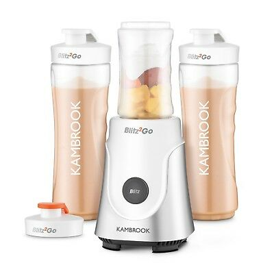 Brand New Kambrook Blitz2Go BenchTop Blender for Shakes Smoothie - Silver