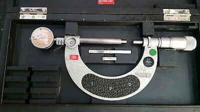 mahr micrometer with dial comparator