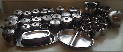 Stainless Steel Teapots & Milk Jugs - Assorted Sizes - Catering job lot.