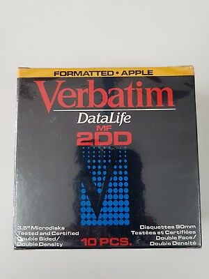 "Verbatim 3.5"" Formatted Apple 2DD"