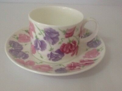 """Dunoon """"ISCHIA"""" Fine Bone China Made In England Cup And Saucer Set"""