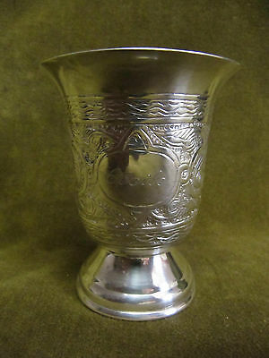 """egyptian alloy silver (800) baby cup """"Cecile"""" 73g oriental decoration"""