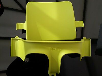 Stokke Tripp Trapp Baby Set/ Seat Attachment - Lime Green- Excellent condition