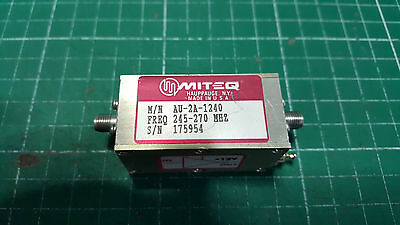 Solid State Amplifier 245MHz - 270MHz