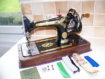 Vintage Singer 28K Vs Heavy Duty Hand Sewing Machine, Semi Industrial Fabrics