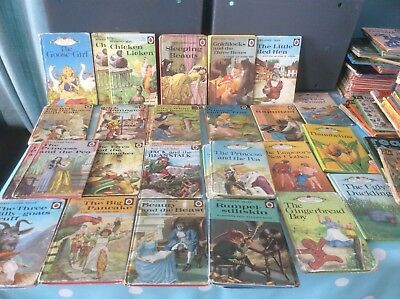 31 Ladybird books Well loved tales